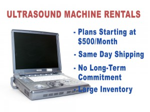 fetal ultrasound machine rental